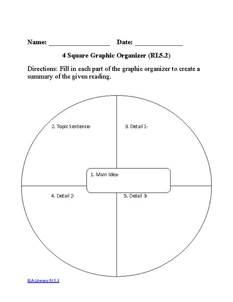 15 best images of summarizing worksheets 4th grade