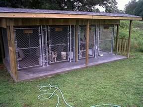 Outdoor Dog Kennel Design Ideas