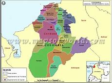 Mapa de Cordoba Colombia Departamento de Cordoba Colombia