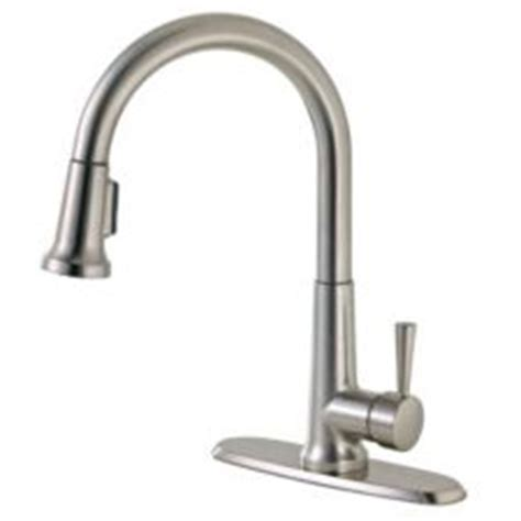 canadian tire kitchen faucet peerless pull kitchen faucet brushed nickel