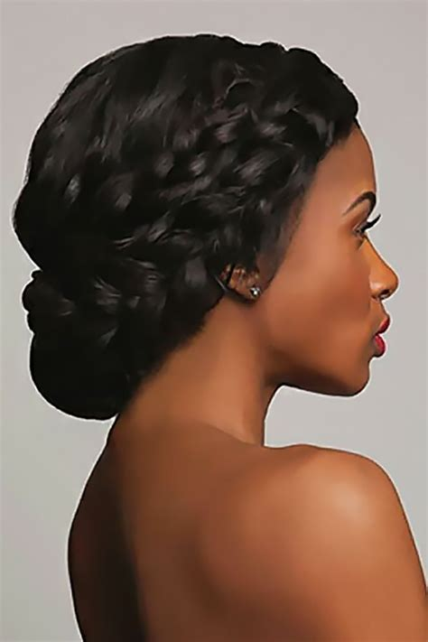 42 black women wedding hairstyles braids black