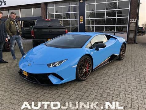 Lamborghini Huracan Performante 2018 Jake Paul