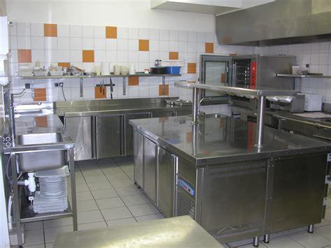 plan travail cuisine professionnelle