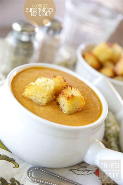 Copycat Zupas Tomato Basil Soup - Tried and Tasty