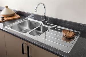 Kicthen Sink by Chrome Or Brushed Steel Finish Kitchen Tap For Your