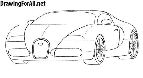 Super car peugeot ettore bugatti coloring page cool car printable. How to Draw a Bugatti