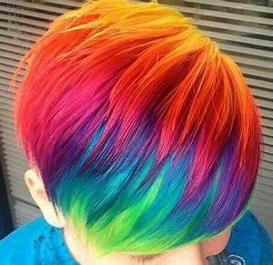 92 best Rainbow hair images on Pinterest