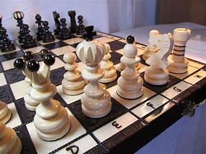 Schachspiel Holz Edel : schach sehr sch nes schachspiel pearl large schachbrett ~ Watch28wear.com Haus und Dekorationen