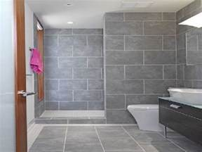 grey bathroom tile bathroom design ideas and more - Gray Tile Bathroom Ideas