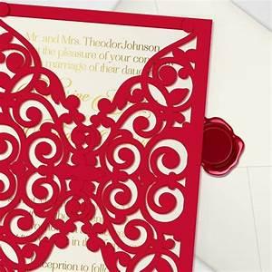 printable laser cut wedding invitation template vector With laser cut wedding invitations file