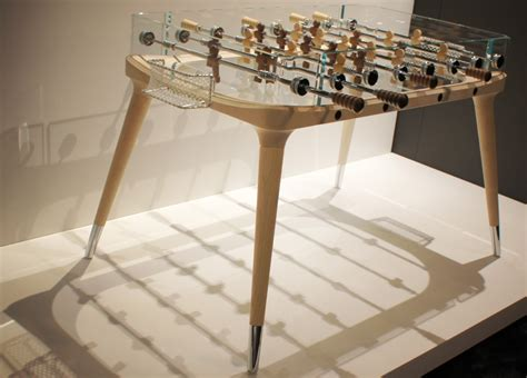 worlds  beautifully designed foosball table