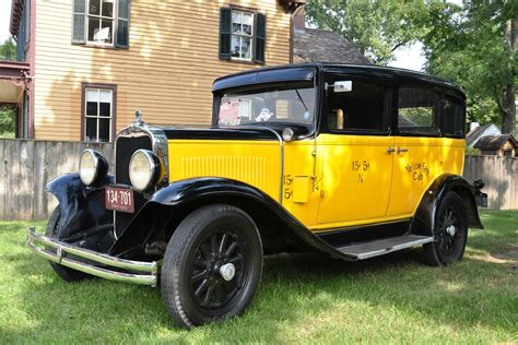1930 Dodge Brothers Dd Taxicab  The Official Blog Of Dodge
