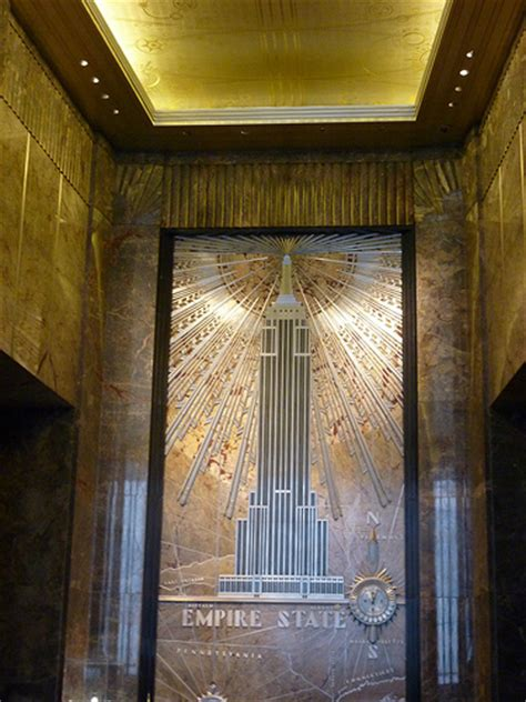 empire state building interior 5th avenue manhattan new