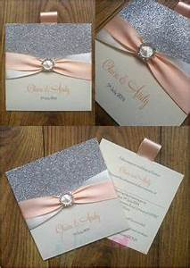 silver glitter wedding invitations handmade invitations With handmade wedding invitations west midlands