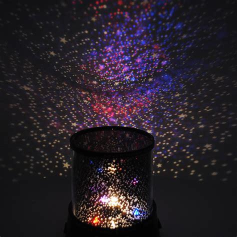 romantic galaxy universe stars projector lamp night light