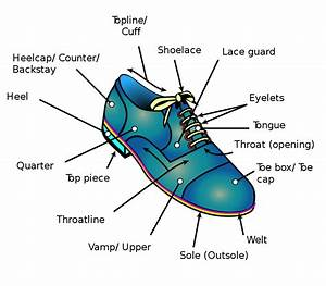File Shoe Diagram Svg