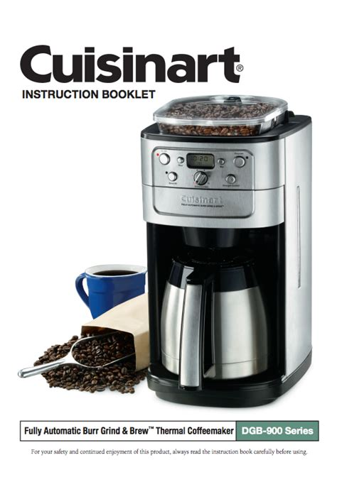 This will cover up on how to use one cuisinart coffee maker. Pin on Cuisinart® Coffeemaker Manuals