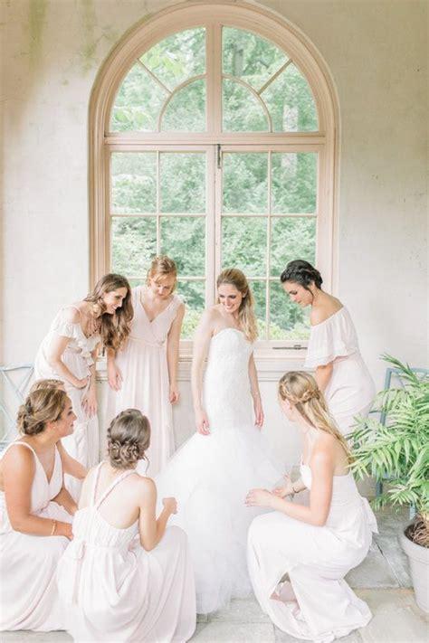 bride    girls winterthur wedding