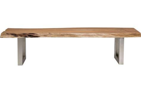 banc kare design marron bois genoa banquette