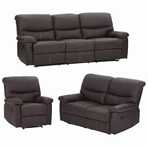 Buy Bestmassage Living Room Sofa Set Recliner Sofa