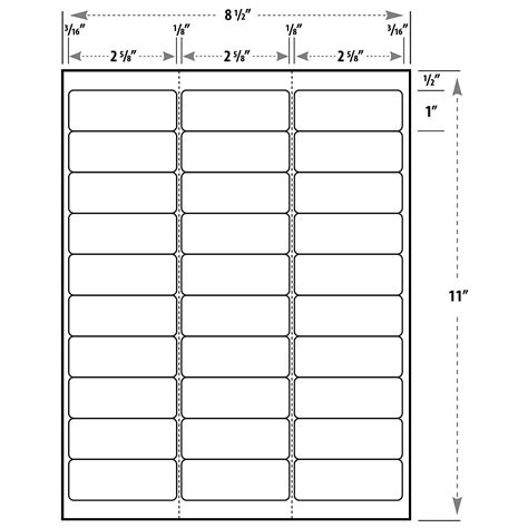 Blank Label Template Address Label Template Exle Mughals