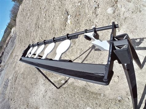 salute products gravity plate rack  target magazine