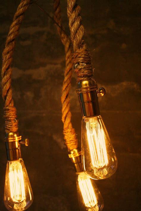 edison bulb hanging light for the lounge room