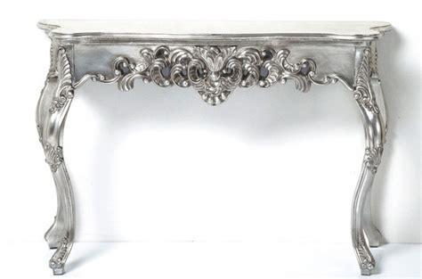 console baroque argent patin 233 consoles pas cher declik deco