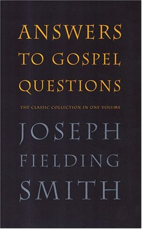 answers  gospel questions  classic collection