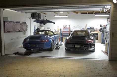 garage sconces garage lighting rennlist porsche discussion forums