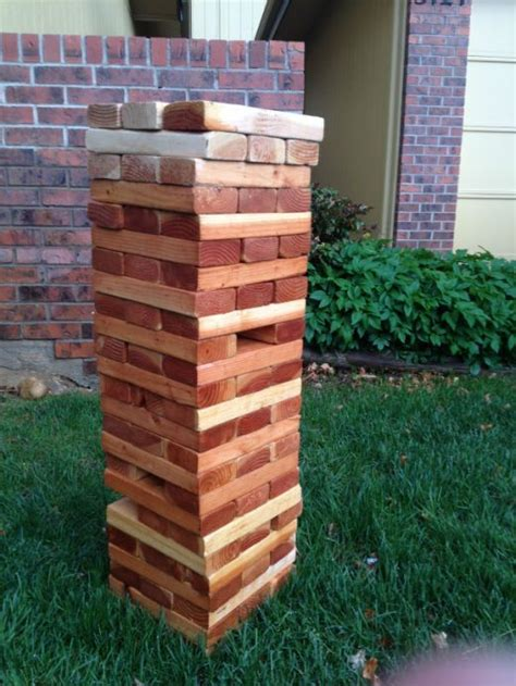 Backyard Jenga by Yard Jenga Jenga And Backyard On