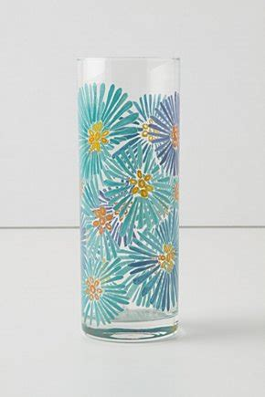 glass painting flower vase craftionary