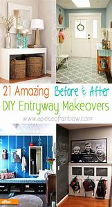 21, Amazing, Before, After, Entryway, Makeovers, U2022, Veryhom