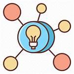 Mind Mapping Icon Mindmap Mindmapping Icons Creative