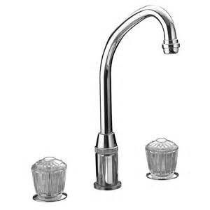 elkay kitchen faucets elkay lkda2437 polished stainless steel two handle widespread kitchen faucets efaucets