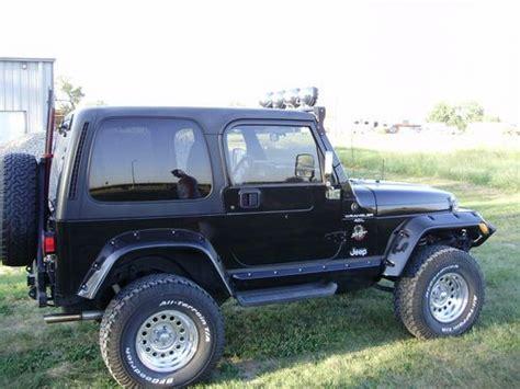 jeep sahara black 2 door buy used 1999 jeep wrangler sahara sport utility 2 door 4