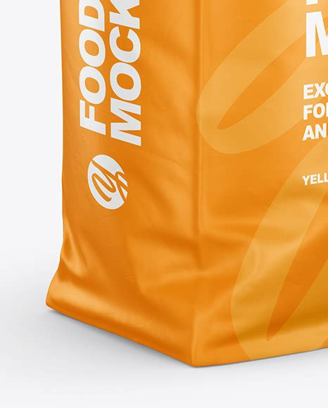 Plastic bag with fusilli pasta 58981. Download Rice Bag Mockup Free Psd - Photoshop PSD Mock-ups