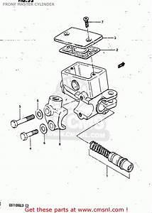 Master Cylinder Diagram 1982 Suzuki Gs1100