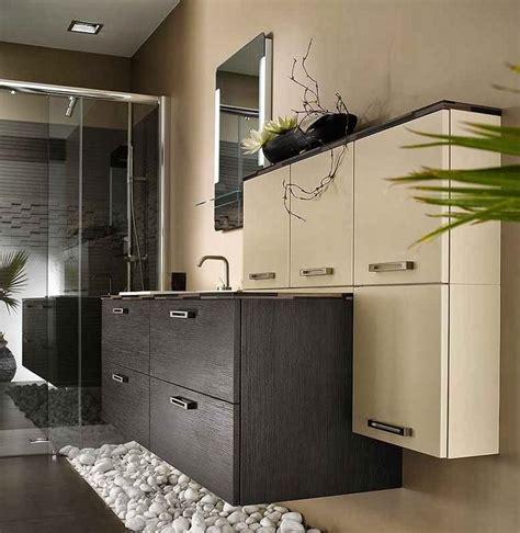 inspiration salle de bain marron beige et nature salle de bain nature