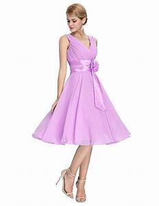 knee length short chiffon bridesmaid dress uniqisticcom With wedding shoppe bridesmaid dresses