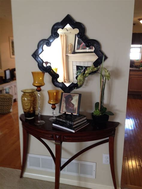 how to a console table how to style a console table