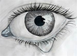 Crying Eye Drawing   www.imgkid.com - The Image Kid Has It!