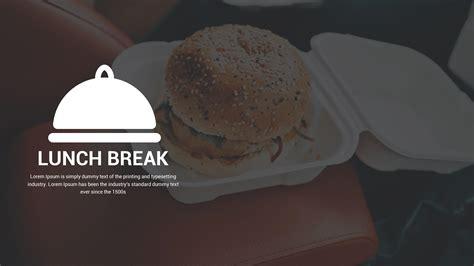 template break time