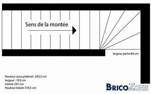Calcul Escalier Quart Tournant : calcul dun escalier quart tournant bas ~ Melissatoandfro.com Idées de Décoration