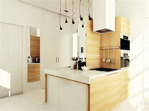 4 Small & Beautiful Apartments Under 50 Square Meters :  4 Interiors Under 40 Square Meters