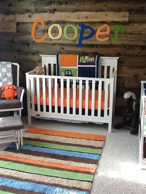 rustic yet modern baby boy nursery project nursery