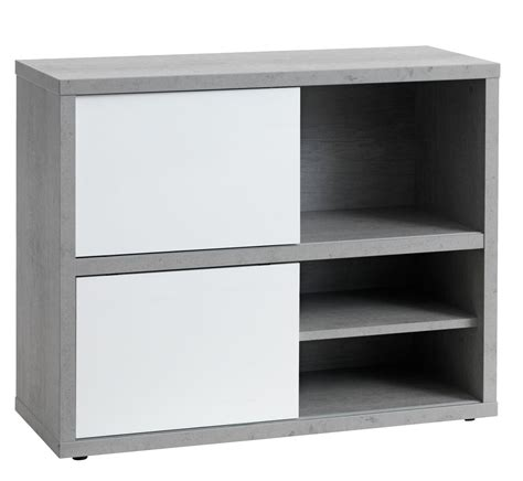 boekenkast wit grijs boekenkast ullits grijs wit hoogglans jysk