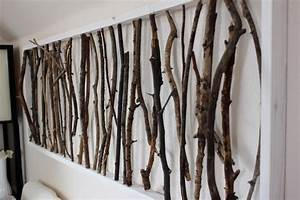 branch art design decoration With what kind of paint to use on kitchen cabinets for twig candle holders