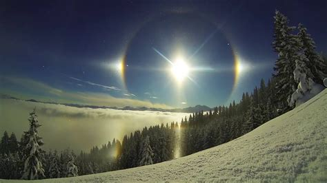 sun dog phenomenon dogs suns sky weather winter epic rainbow second portal