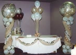 Wedding Balloon Table Decorations by Balloons Decorations Ideas Dream House Experience